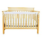 Trend Lab® CribWrap™ Convertible Crib Long Narrow Rail Cover in White