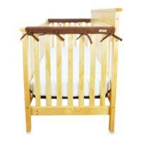 Trend Lab® CribWrap™ Convertible Crib Short Narrow Rail Cover in Natural