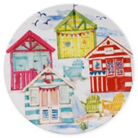 Beach House Melamine Dinner Plate