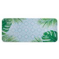 Arcadia Tropical Leaf Melamine Serving Tray