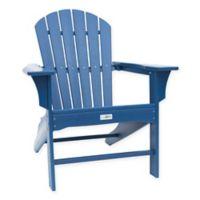 Luxeo Hampton Adirondack Chairs in Navy (Set of 2)
