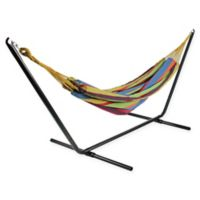 Northlight Double Brazilian Hammock in Blue/Green