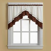Jayden Window Curtain Swag Valance
