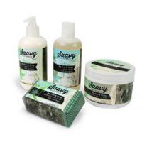 Saavy Naturals™ 4-Piece Bay Rum and Hemp Bath Set