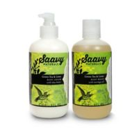 Saavy Naturals™ 2-Piece Green Tea and Lime Bodycare Set