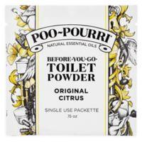 Poo-Pourri® Before-You-Go Toilet Powder Packets in Original Citrus
