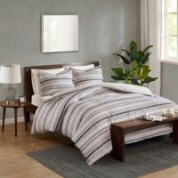 Madison Park Keegan King/California King Duvet Cover Set in Indigo
