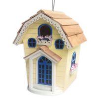 Home Bazaar Cottage Birdhouse in Yellow