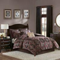 Madison Park Ingrid 8-Piece California King Comforter Set in Red