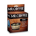 Mr. Coffee Basket-Style Gold Tone Permanent Filter