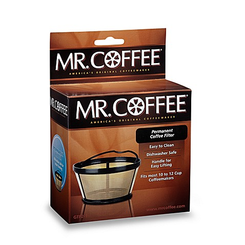 Mr Coffee 174 Gold Filter Bed Bath Amp Beyond