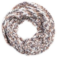 Space Dye Chenille Loop Scarf in Blush