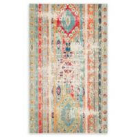 Unique Loom Yellowstone Sedona 5' X 8' Powerloomed Area Rug in Blue