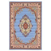 Unique Loom Reza Washington 6' x 9' Area Rug in Light Blue