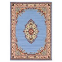 Unique Loom Reza Washington 7' x 10' Area Rug in Light Blue