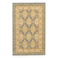 "Unique Loom Zinnia Heritage 3'3"" X 5'3"" Powerloomed Area Rug in Blue"
