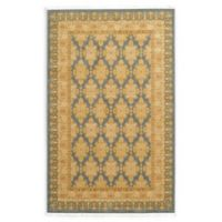 Unique Loom Zinnia Heritage 5' X 8' Powerloomed Area Rug in Blue