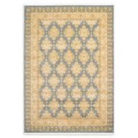 Unique Loom Zinnia Heritage 7' X 10' Powerloomed Area Rug in Blue