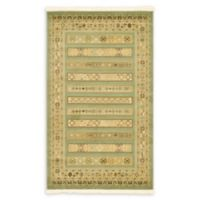 "Unique Loom Viceroy Nomad 3'3"" X 5'3"" Powerloomed Area Rug in Light Green"