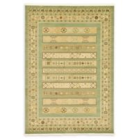 Unique Loom Viceroy Nomad 7' X 10' Powerloomed Area Rug in Light Green