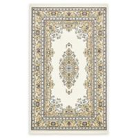 Unique Loom Windsor Nain Design 5' X 8' Powerloomed Area Rug in Cream