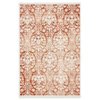 Unique Loom Tyche Arcadia 4' X 6' Powerloomed Area Rug in Terracotta