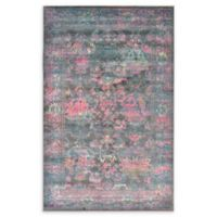 Unique Loom Tidaholm Stockholm 5' X 8' Powerloomed Area Rug in Gray