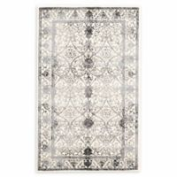 """Unique Loom Traditional La Jolla 3'3"""" X 5'3"""" Powerloomed Area Rug in Ivory"""