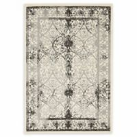Unique Loom Traditional La Jolla 4' X 6' Powerloomed Area Rug in Ivory