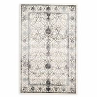 Unique Loom Traditional La Jolla 5' X 8' Powerloomed Area Rug in Ivory