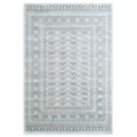 "Dynamic Rugs® Boccara 3'6"" X 5'6"" Powerloomed Area Rug in Light Grey"