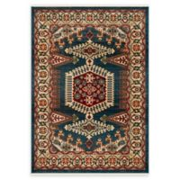 Safavieh Kashan Amol 3'3 x 4'10 Accent Rug in Navy/Blue