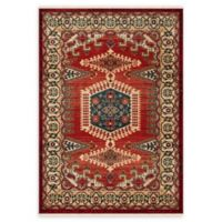 Safavieh Kashan Amol 3'3 x 4'10 Accent Rug in Red
