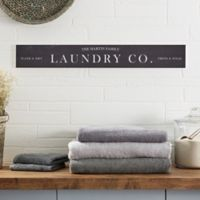 Laundry Room 29-Inch x 4-Inch Wooden Sign