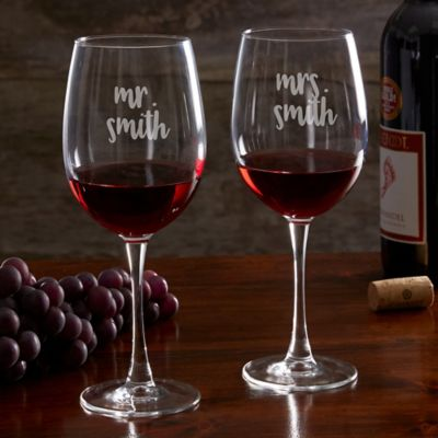 buy wedding wine glass from bed bath beyond