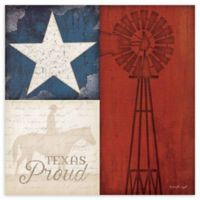 "Courtside Market ""Texas Proud"" Canvas Wall Art"