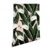 Deny Designs Marta Barragan Camarasa Floral Desert 2-Foot x 4-Foot Peel and Stick Wallpaper