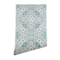 Deny Designs Marta Barragan Camarasa Ceramic Tile 2-Foot x 8-Foot Peel and Stick Wallpaper