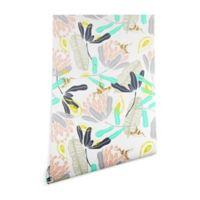Deny Designs Marta Barragan Camarasa Hummingbird 2-Foot x 10-Foot Peel and Stick Wallpaper