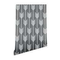 Deny Designs Holli Zollinger Arrows 2-Foot x 8-Foot Peel and Stick Wallpaper