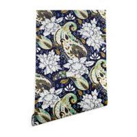 Deny Designs Marta Barragan Camarasa Paisley Bloom 2-Foot x 4-Foot Peel and Stick Wallpaper