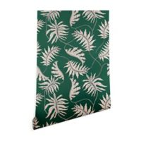 Deny Designs Holli Zollinger Urban Jungle Palm 2-Foot x 8-Foot Peel and Stick Wallpaper