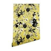Deny Designs Marta Barragan Camarasa 2-Foot x 8-Foot Two-Tone Bloom Wallpaper