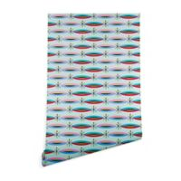 Deny Designs Andi Bird 2-Foot x 8-Foot Way Cool Wallpaper
