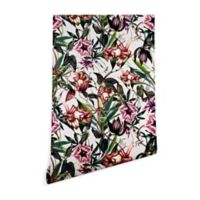 Deny Designs Marta Barragan Camarasa Vintage Blooms 2-Foot x 8-Foot Peel and Stick Wallpaper