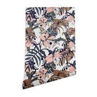 Deny Designs Marta Barragan Camarasa Winter Jungle 2-Foot x 4-Foot Peel and Stick Wallpaper
