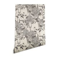 Deny Designs Sharon Turner Just Goats 2-Foot x 8-Foot Peel and Stick Wallpaper