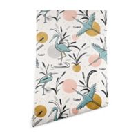 Deny Designs Heather Dutton Marshland 2-Foot x 8-Foot Peel and Stick Wallpaper