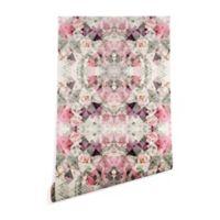Deny Designs Marta Barragan Camarasa Shape and Flower 2-Foot x 4-Foot Wallpaper