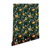 Deny Designs Iveta Abolina Lyonette 2-Foot x 4-Foot Peel and Stick Wallpaper
